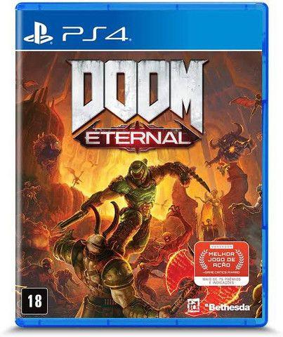 Doom eternal PS4 novo lacrado.