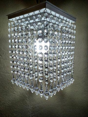 Lustre de cristal acrílico - Foto 4