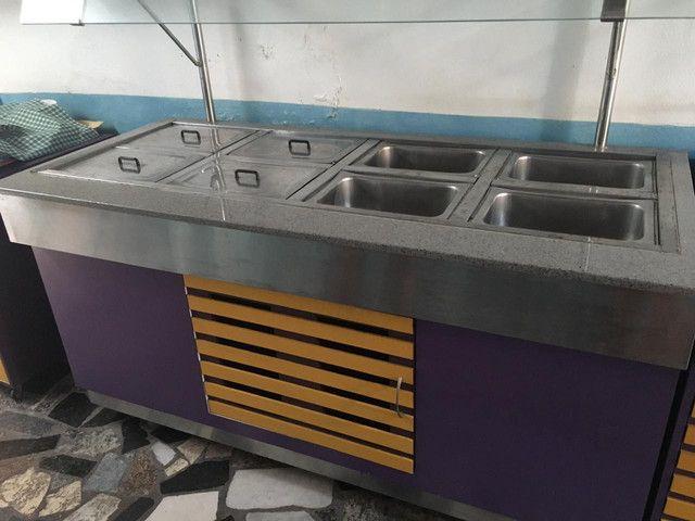 Mesa quente elétrica para buffet/restaurante/self-service  - Foto 3