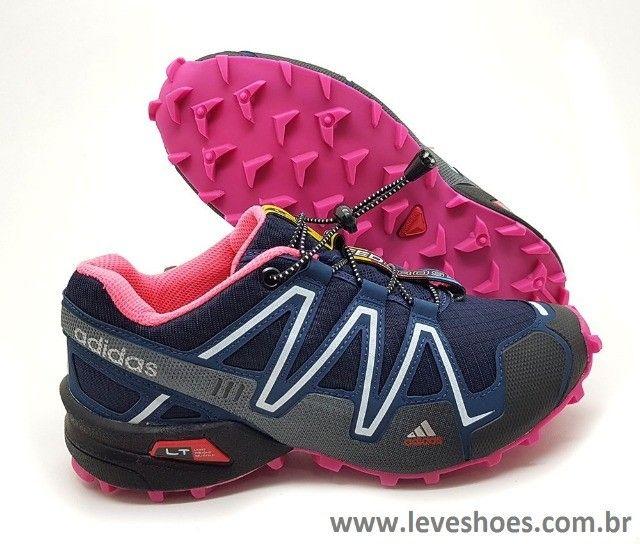 Tênis Adidas Speed Cross Barato - Foto 6