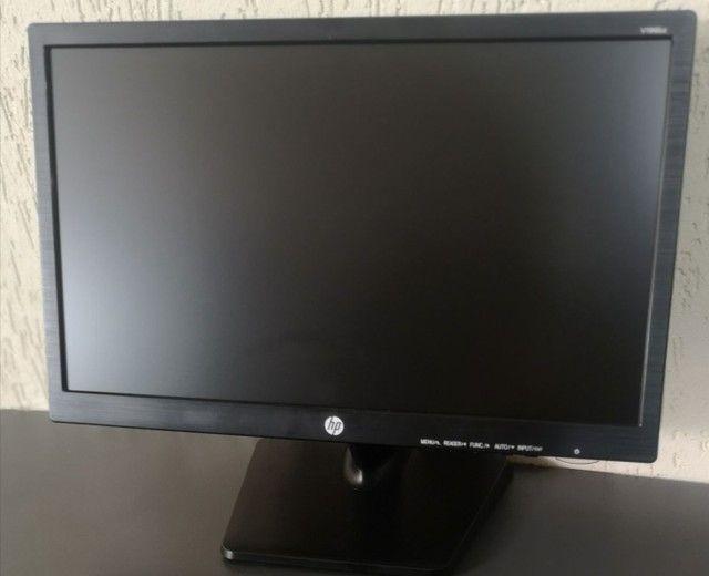 "Monitor HP 19"" VGA e DVI"