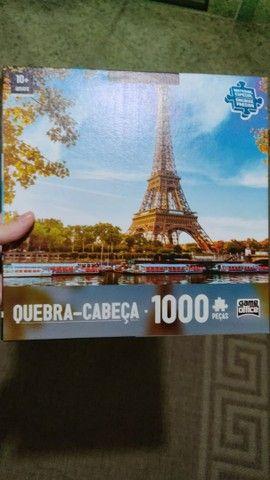Quebra - cabeça 1000 peças