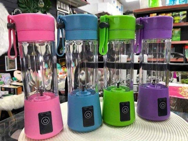 Mini Liquidificador Portátil 6 Lâminas Novos A Pronta Entrega