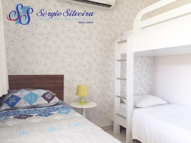 Apartamento à venda no Porto das Dunas com 3 quartos todo projetado Mediterranee - Foto 3