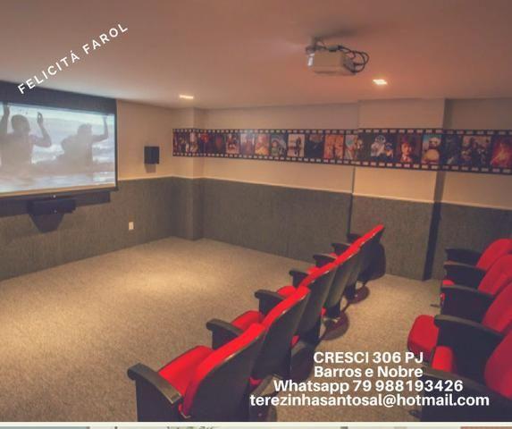 Apartamentos Com 2 ou 3/4 Cinema Exclusivo