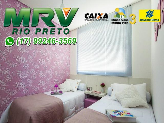MRV Rio Preto - 2 Dormitórios e 1 Garagem - Minha Casa Minha Vida 3