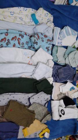 Lote bebê menino 0 a 6 meses - Foto 2
