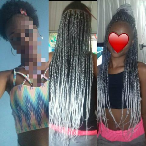 Tranças, dreads, box braids, mega hair etc - Foto 3