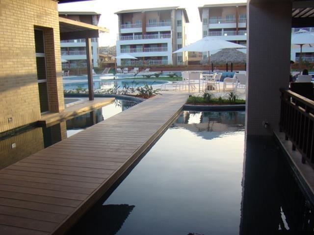 Apartamento mobiliado no Porto das Dunas - Impecável!