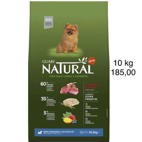 Ração Guabi Natural Cordeiro e Aveia para cães adultos Raças Mini e Pequenas 10 kg