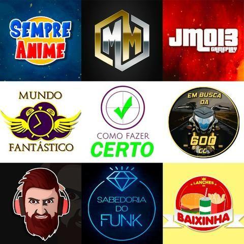 Logo + Banner / Capa Para Canal No Youtube - Entrega Em 24h - Foto 2