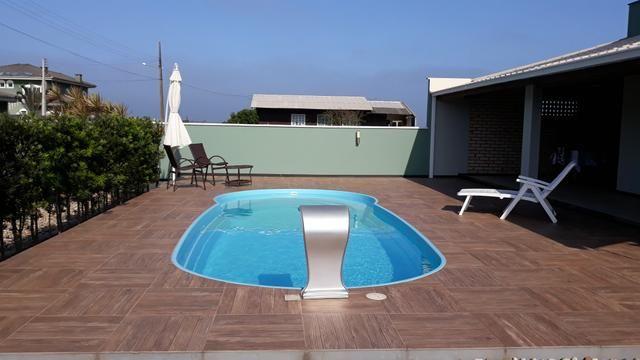 Casa Temporada com Piscina Praia do Ervino SC - Foto 12