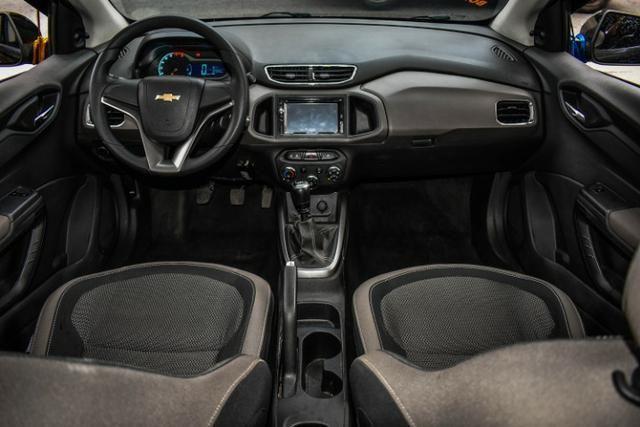 Chevrolet Prisma LT Completo Flex Mec. + GNV + 2019 Vist - Foto 6