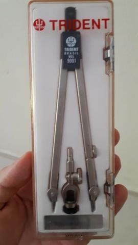 Compasso Trident 9001 + Escalímetro Trident