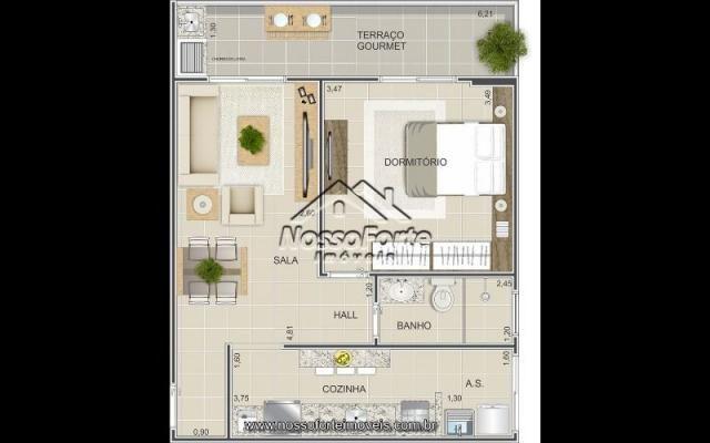 Lançamento Apartamento na Vila Mirim em Praia Grande - Foto 7