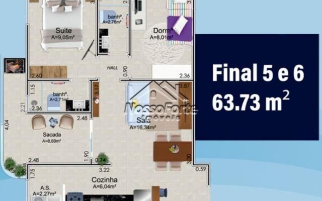 Lançamento Apartamento no Caiçara em Praia Grande - Foto 18