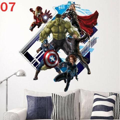 Adesivo Grande Vingadores Marvel! - Foto 6