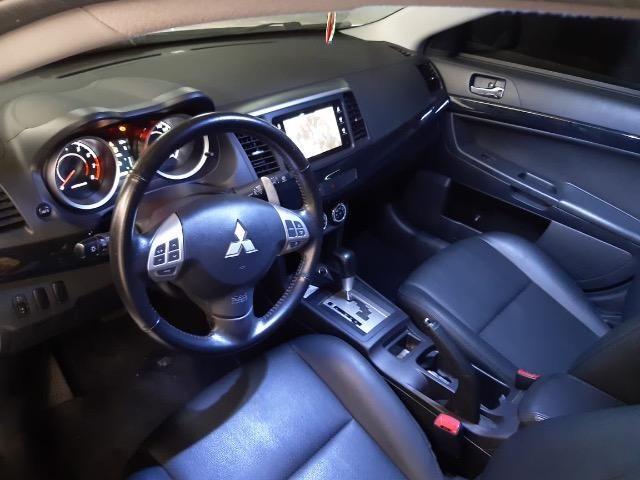 Mitsubishi Lancer 2.0 Automatico Cvt 2015 Branco - Foto 5