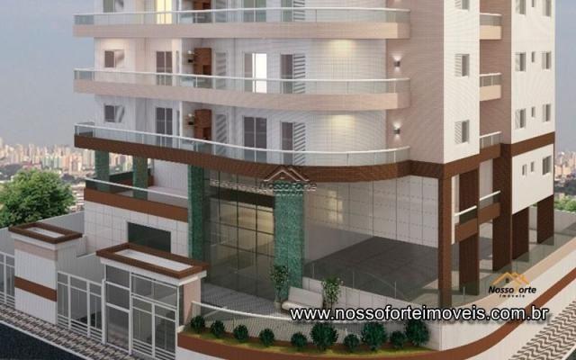 Lançamento Apartamento no Balneário Maracanã em Praia Grande - Foto 2