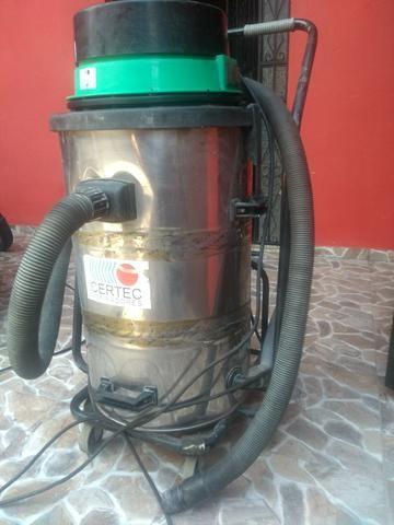 Aspirador de pó industrial pó e agua ideal para lava jato - Foto 2