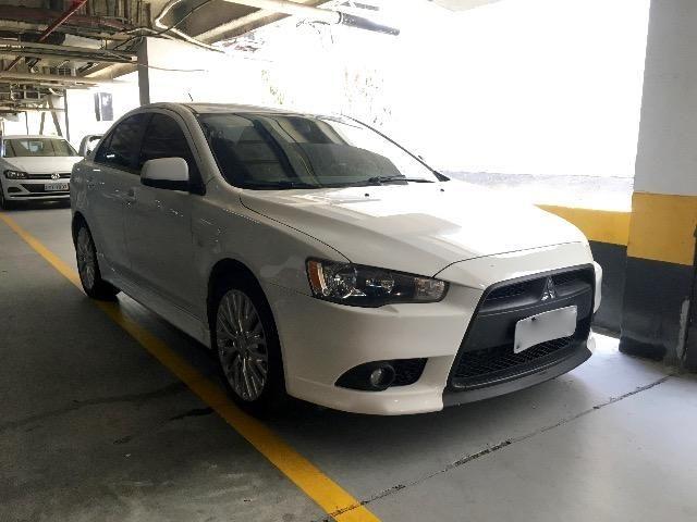 Mitsubishi Lancer 2.0 Automatico Cvt 2015 Branco