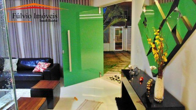 Magnífico sobrado moderno de alto padrão, 4 suítes, completo em armário e salão gourmet - Foto 2