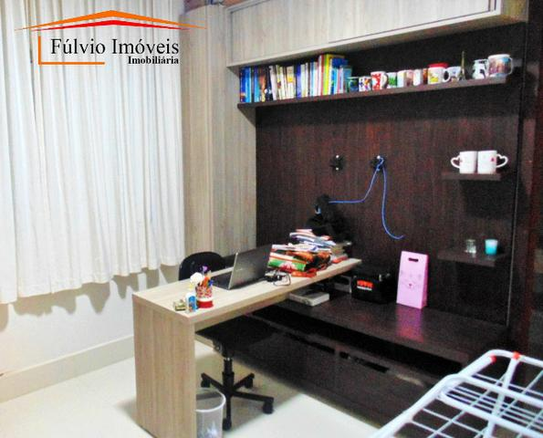 Magnífico sobrado moderno de alto padrão, 4 suítes, completo em armário e salão gourmet - Foto 12