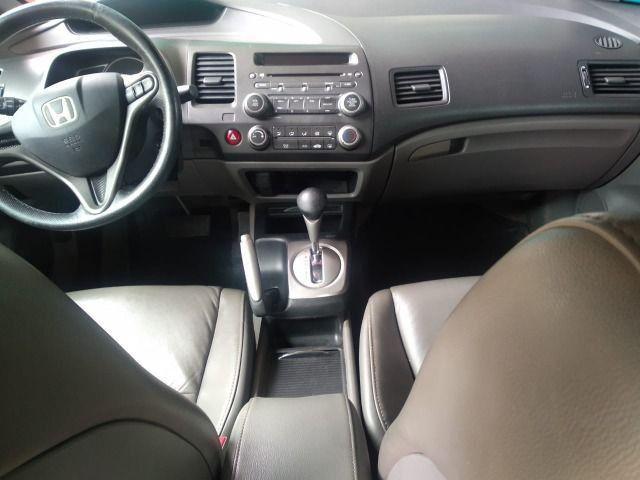 """"""" Lindo Honda Civic Lxs 1.8 Automático Flex 2009/2010 completo.'' - Foto 9"""