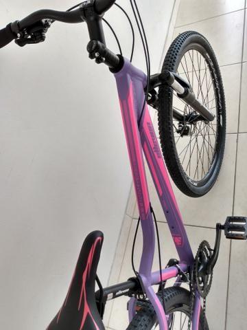 Bike 29 Feminina Tamanho 15 Shimano - Foto 4