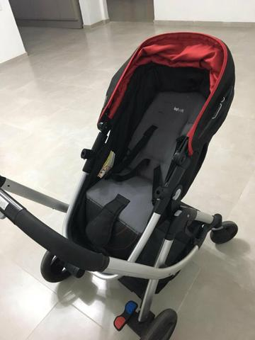 Carrinho, Bebê conforto e suporte de bebê conforto - Foto 3