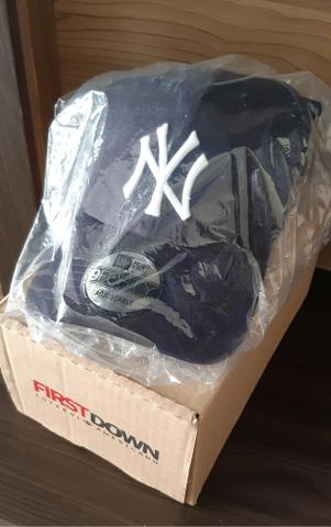 Boné New York Yankees Azul Marinho - New Era (Novo)