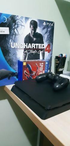 Playstation 4 500 Gb Em Ótimo Estado