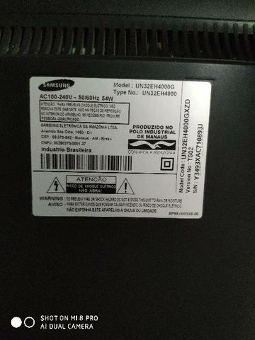 Tv Led Samsung 32 com defeito - Foto 2