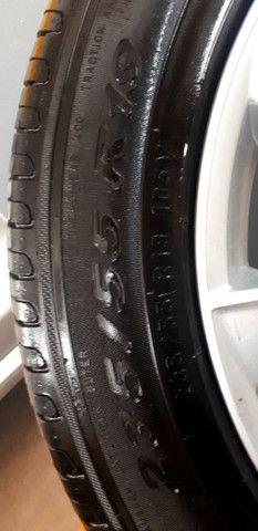 Jogo de Rodas aro 19 originais Volvo com 4 pneus Pirelli zero! - Foto 4