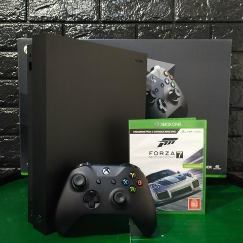 Xbox one x 4k ,com garantia