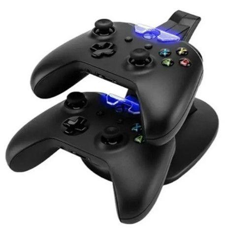 Carregador Duplo Para Controle Xbox One(s)/x Carregador