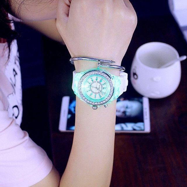 Relógio de Led Luminoso - Foto 4