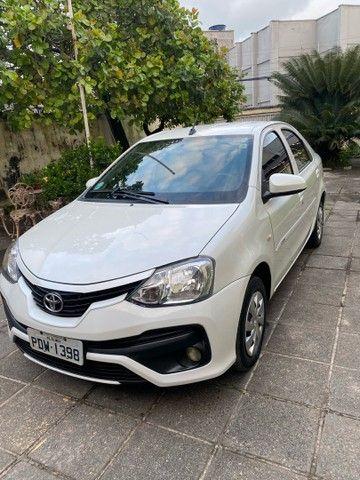 Etios sedan 1.5 automático 2018 perolado - Foto 7