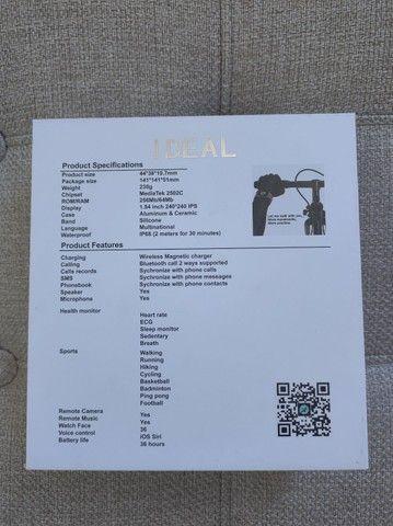 Relógio SmartWatch Iwo 12 pro 44mm - Foto 3
