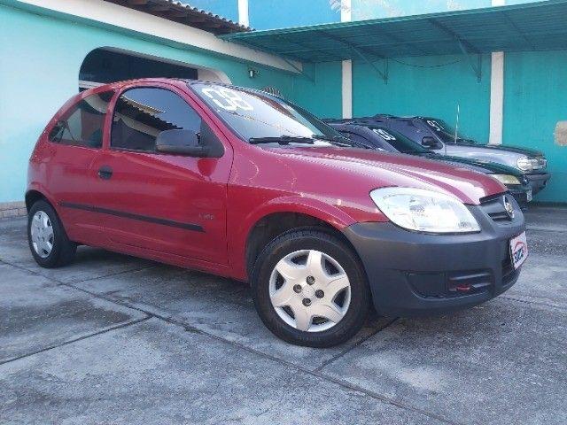 Chevrolet Celta 1.0 Life 2008 Ar Cond. + Direção + GNV