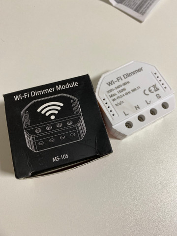 Modulo de Automação Wifi Dimmer P/ Luz Dimmerizavel