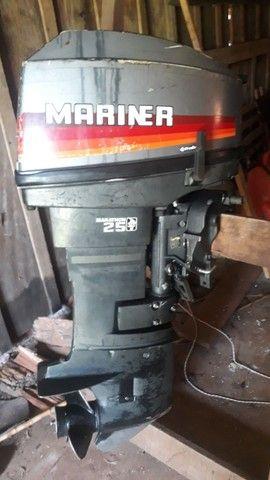 Motor de popa 25hp - Foto 2