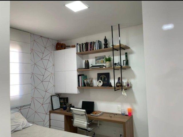 Apartamento para venda possui 182m2 4 suítes Jd das Américas - Foto 17