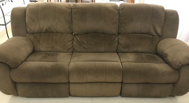 Sofa Plenitude Colosso Reclinável 3 lugares