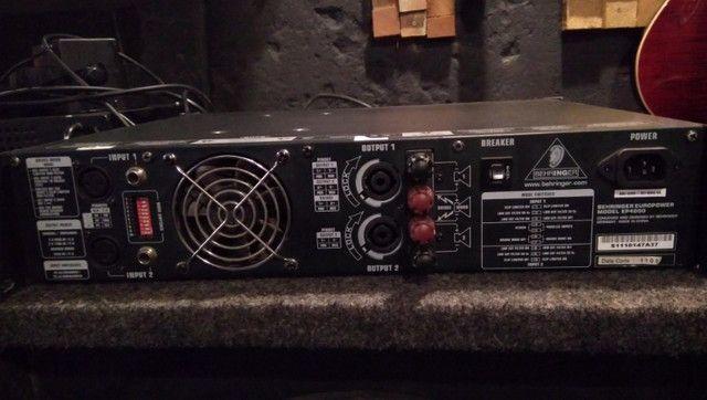 Amplificador de potencia behringer ep4000 - Foto 3