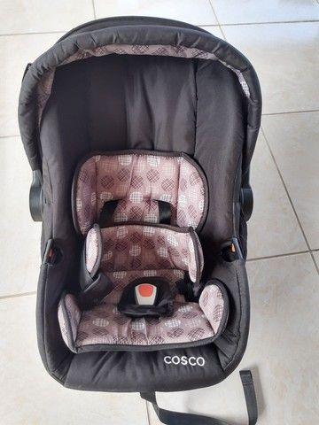 Carrinho e Bebê conforto Marca Cosco - Foto 4