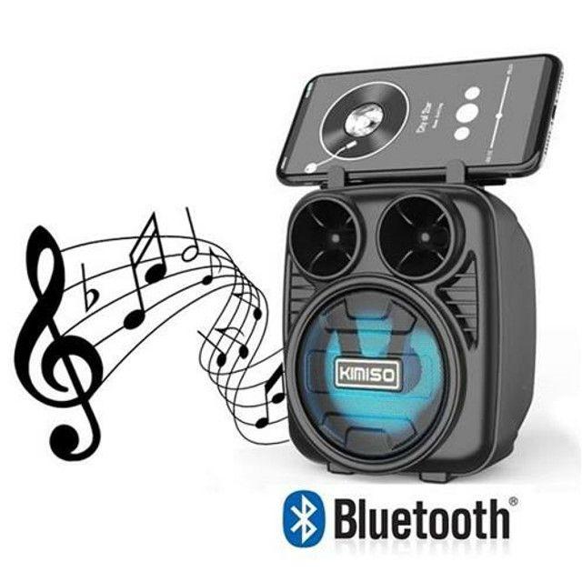 Caixa de Som Bluethoot Kimiso KMS-1182<br><br>
