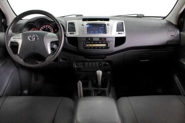 Toyota Hilux SRV turbo diesel 4x4 aut. - Foto 8