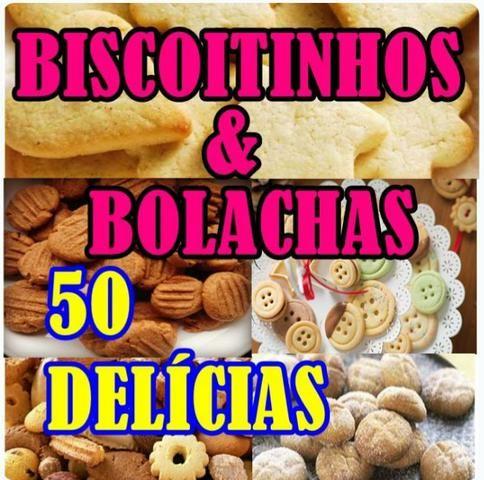 E-book de receitas de biscoitinhos e bolachas - 3x de 11,20 no cartão, ou 32,00 a vista