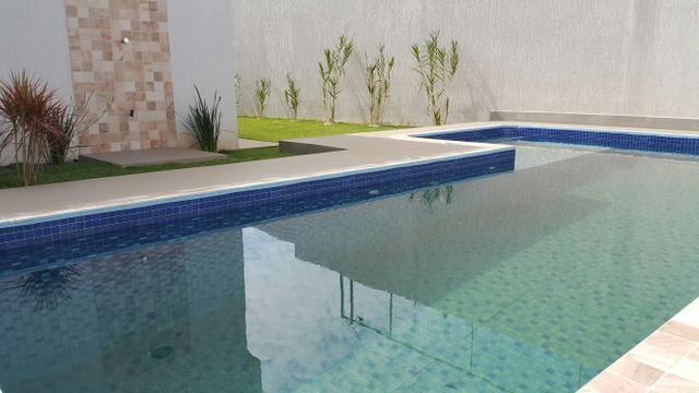 Casa nova 3quartos 3 suítes piscina churrasqueira rua 8 Vicente pires - Foto 9
